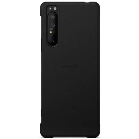 Official Sony Xperia 1 II Style Cover View Case - Black