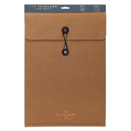 Luckies The Envelope Laptop & Tablet Incognito Tech Sleeve - Brown