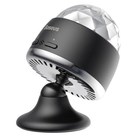 Baseus Rotary Voice Control Wall LED Crystal Ball Light - Black
