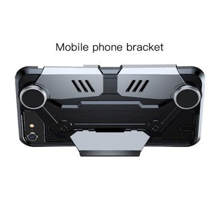 Baseus GamePad iPhone SE 2020 Gamer Case - Black / Silver