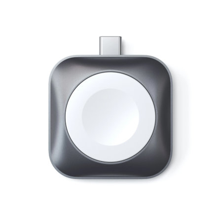 Satechi Apple Watch USB-C Magnetic Charging Dock - Grey