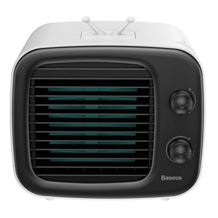 Baseus Time Desktop Evaporator Air Condition Cooler Fan- White & Black
