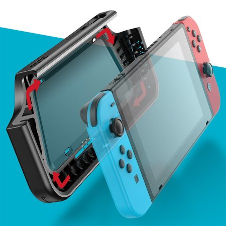 Baseus Nintendo Switch Shock Resistant Protective Case - Black