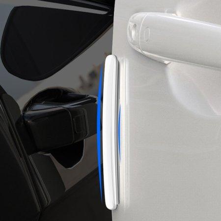 Baseus Streamlined Car Door Bumper Strip Protectors - 4 Pack - Black
