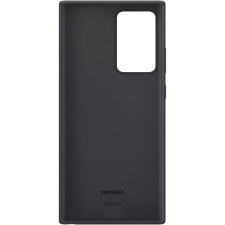 Official Samsung Galaxy Note 20 Ultra Silicone Cover Case - Black