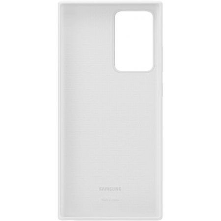 Official Samsung Galaxy Note 20 Ultra Silicone Case - Mystic White