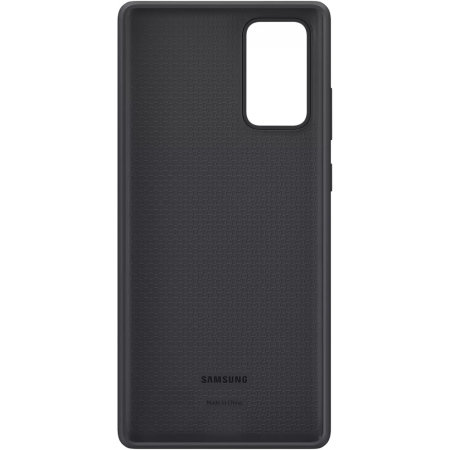 Official Samsung Galaxy Note 20 Silicone Cover - Mystic Black