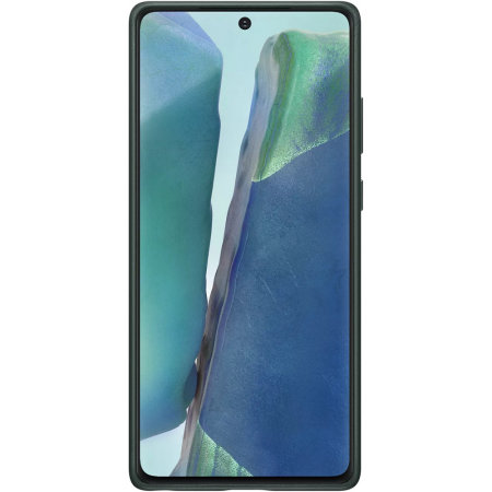 Official Samsung Galaxy Note 20 Leather Cover Case - Green
