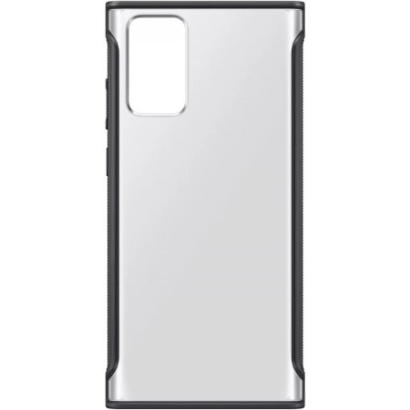 Official Samsung Galaxy Note 20 Clear Protective Case - Black
