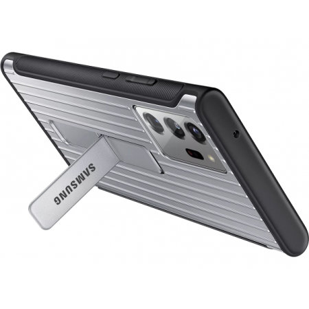 Official Samsung Note 20 Ultra Protective Standing Case - Silver