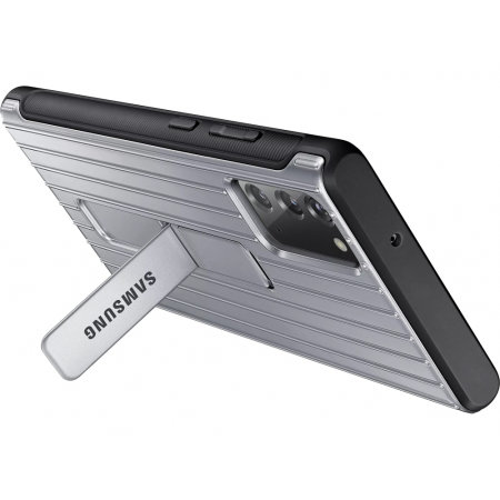 Official Samsung Galaxy Note 20 Protective Standing Case - Silver
