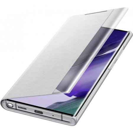 Official Samsung Note 20 Ultra Clear View Cover Case - Mystic Grey