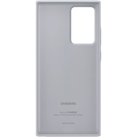 Official Samsung Galaxy Note 20 Ultra Kvadrat Cover Case - Grey