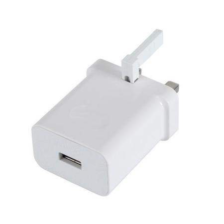 Official Huawei SuperCharge 40W USB-C UK Mains Charger & Cable - White