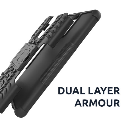 Olixar ArmourDillo Samsung Galaxy A31 Protective Case - Black