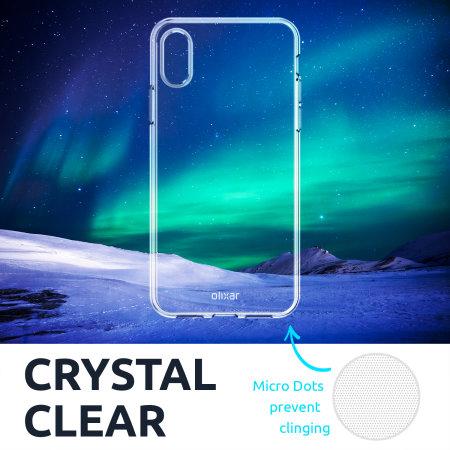 Olixar FlexiShield Samsung Galaxy A50 Gel Case - Clear