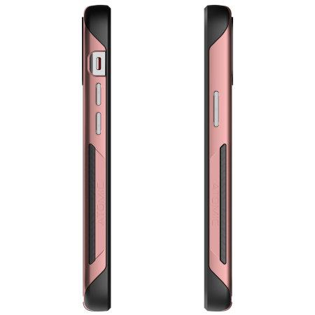 Ghostek Atomic Slim 3 iPhone 12 Bumper Case - Pink