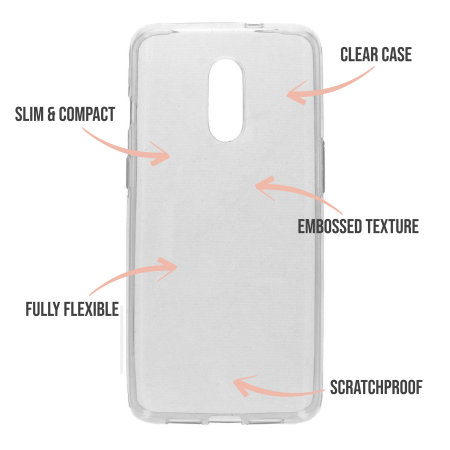 LoveCases OnePlus 8 Daisy Clear Case - White
