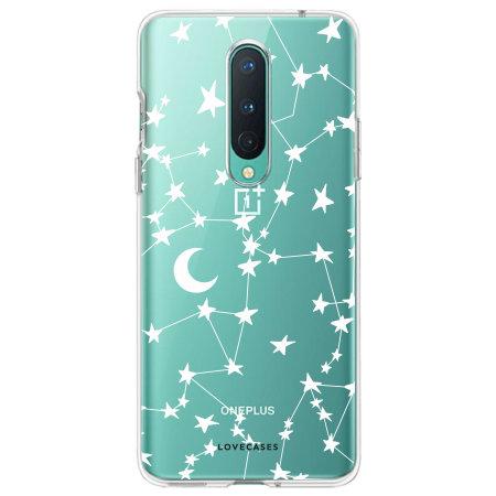 LoveCases OnePlus 8 Starry Design Case - White