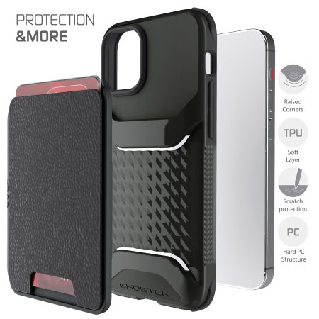 Ghostek Exec 4 iPhone 12 mini Wallet Case - Black