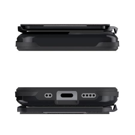 Ghostek Exec 4 iPhone 12 Tough Wallet Case - Black