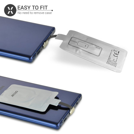 Olixar Samsung Note 10 Lite Thin USB-C Qi Wireless Charging Adapter
