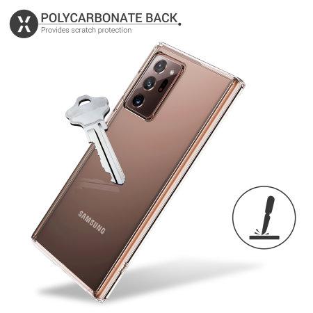 Olixar ExoShield Samsung Galaxy Note 20 Ultra Case - 100% Clear