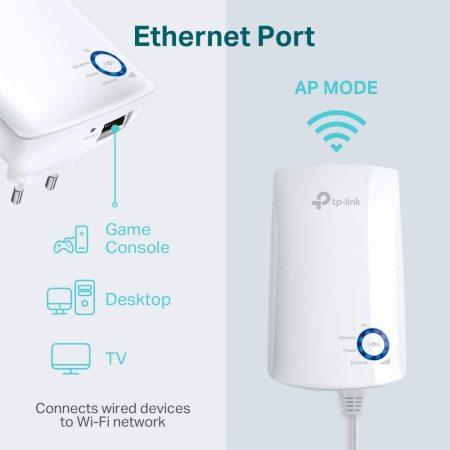TP-Link 300Mbps Universal Wireless Wi-Fi Range Extender - White
