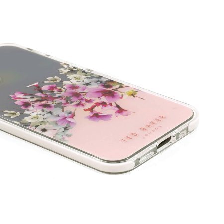 Ted Baker Jasmine iPhone 12 mini Anti-Shock Case - Clear