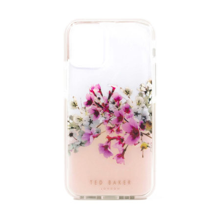 Ted Baker Jasmine iPhone 12 Anti-Shock Case - Clear