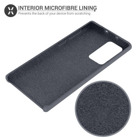 Olixar Samsung Galaxy Note 20 Soft Silicone Case - Grey