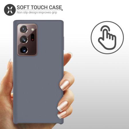 Olixar Samsung Galaxy Note 20 Ultra Soft Silicone Case - Grey