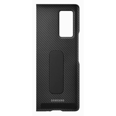 Official Samsung Galaxy Z Fold 2 5G Aramid Standing Cover Case - Black