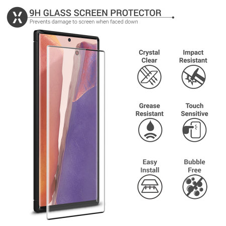 Olixar Sentinel Samsung Note 20 Case And Glass Screen Protector