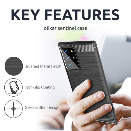 Olixar Sentinel Samsung Note 20 Ultra Case And Glass Screen Protector