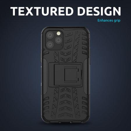 Olixar ArmourDillo iPhone 12 Pro Max Protective Case - Black
