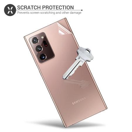 Olixar Front & Back Samsung Galaxy Note 20 Ultra TPU Screen Protector