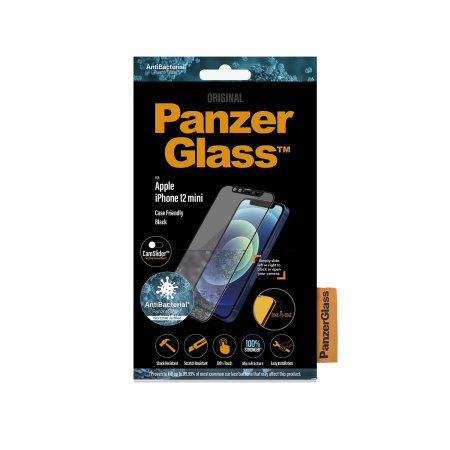 PanzerGlass iPhone 12 mini CamSlider Glass Screen Protector - Black