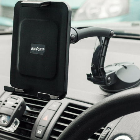 AnyGrip Samsung Galaxy Tab S6 Tablet Car Holder & Stand - Black