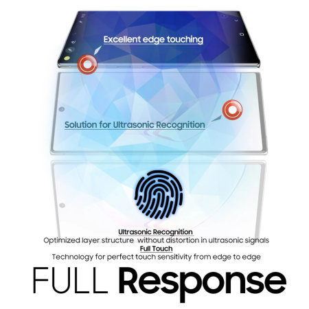 Whitestone Dome Samsung Galaxy Note 20 Ultra Glass Screen Protector