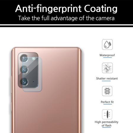 Whitestone Dome Samsung Galaxy Note 20 Camera Protector - 2 Pack