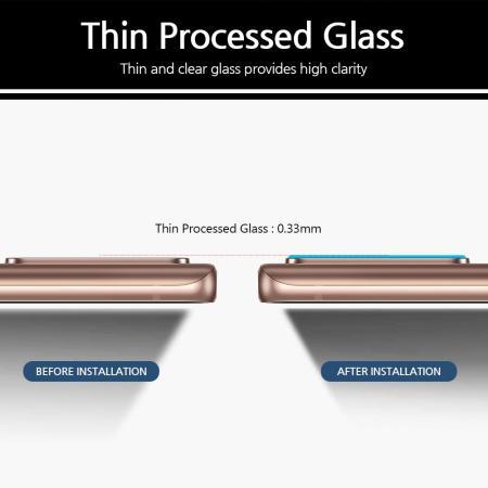 Whitestone Dome Samsung Galaxy Note 20 Ultra Camera Protector - 2 Pack