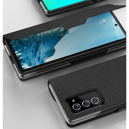 Araree Bonnet Samsung Galaxy Z Fold 2 5G Wallet Stand Case - Black