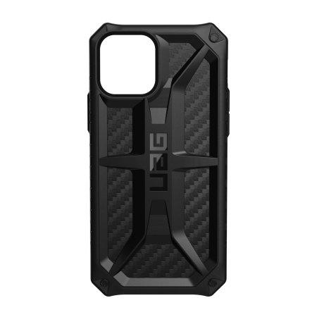 UAG Monarch iPhone 12 Pro Max Tough Case - Carbon Fibre