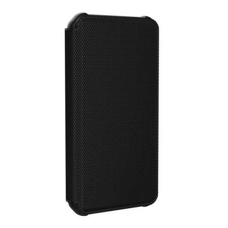 UAG Metropolis iPhone 12 Pro Max Tough Wallet Case - Kevlar Black