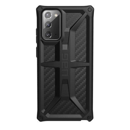 UAG Monarch Samsung Galaxy Note 20 Tough Case - Carbon Fiber
