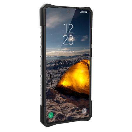 UAG Plasma Samsung Note 20 Tough Case - Ice