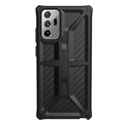 UAG Monarch Samsung Galaxy Note 20 Ultra Tough Case - Carbon Fibre