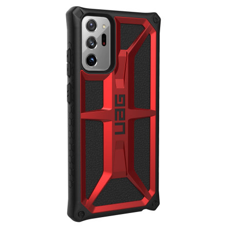 UAG Monarch Samsung Galaxy Note 20 Ultra Tough Case - Crimson