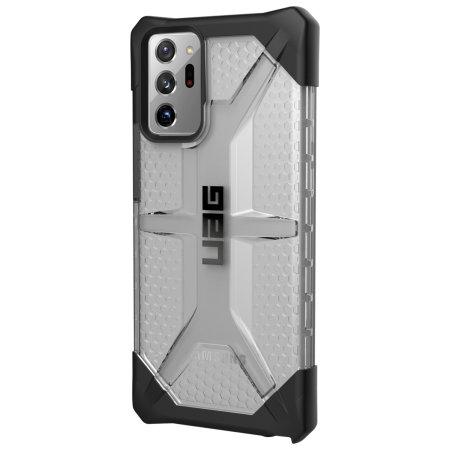 UAG Plasma Samsung Galaxy Note 20 Ultra Tough Case - Ice